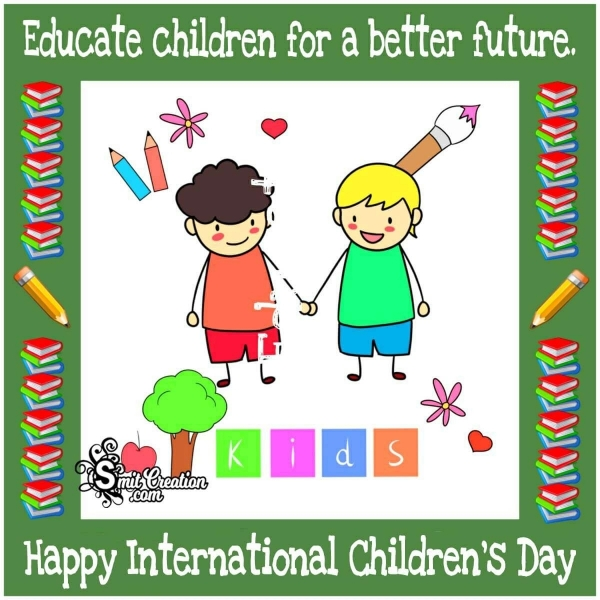 Best and Catchy Slogans on Children's Day