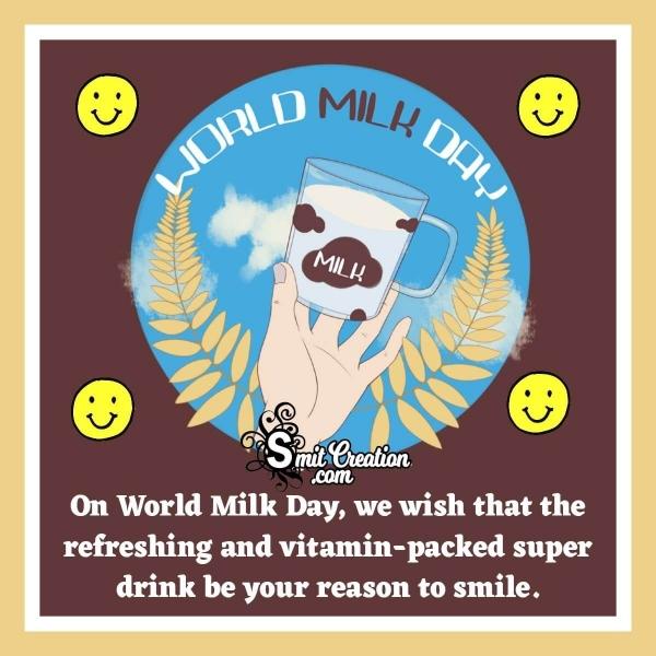 Happy World Milk Day Wish