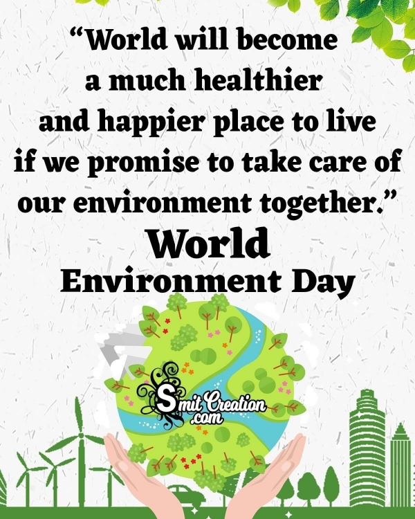 Happy World Environment Day Whatsapp Status Messages