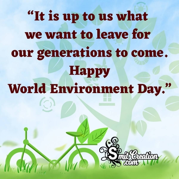 World Environment Day Whatsapp Messages