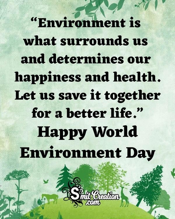 World Environment Day Status for Whatsapp