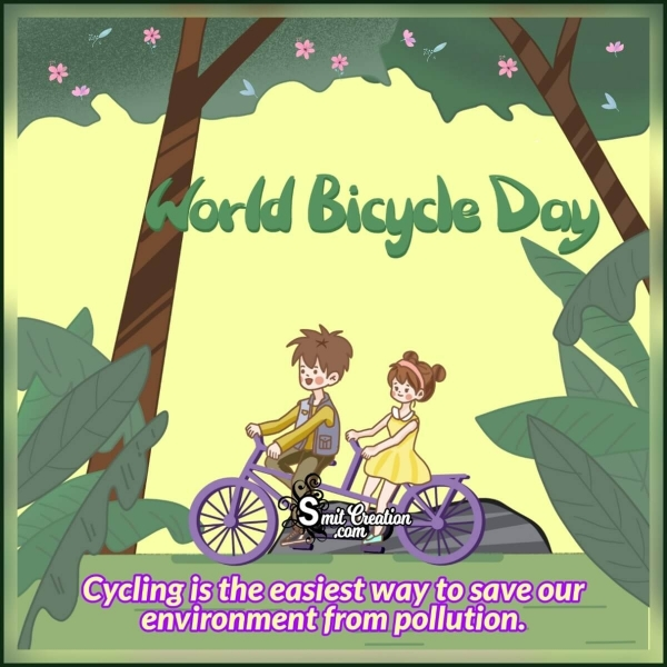 World Bicycle Day Picture