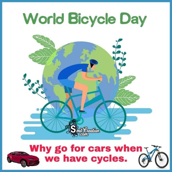 World Bicycle Day Image