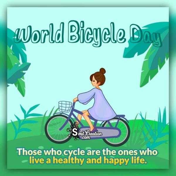 World Bicycle Day Slogan