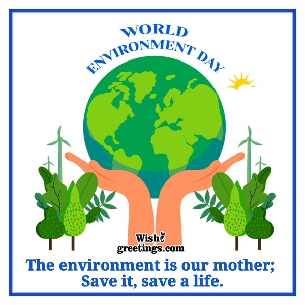 Slogans on World Environment Day