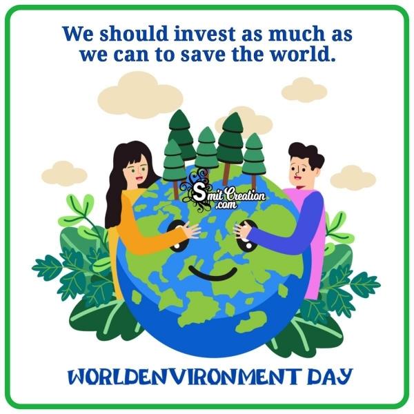 World  Environment Day Whatsapp Image