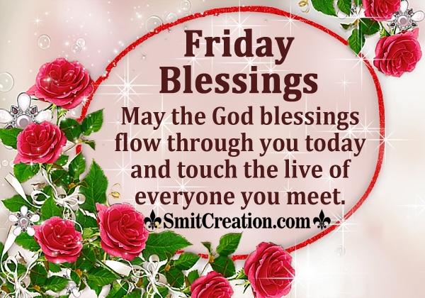 Friday God Blessings