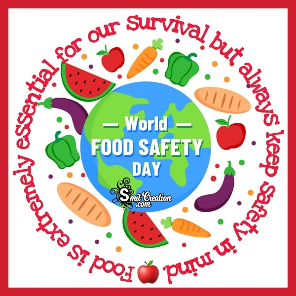 World Food Safety Day Wish Pic