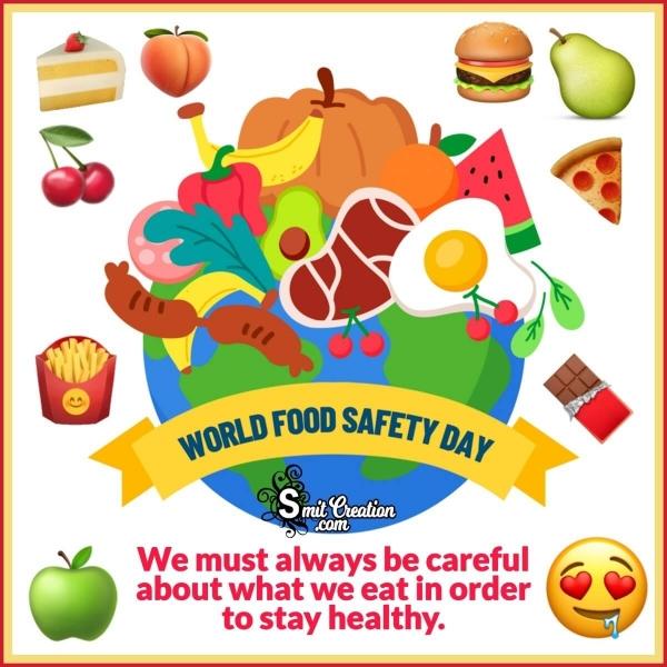 World Food Safety Day Whatsapp Image