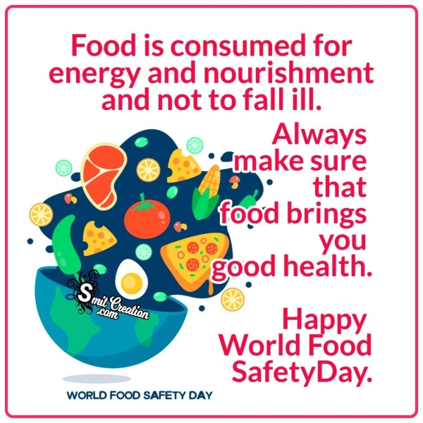 Happy World Food Safety Day Image