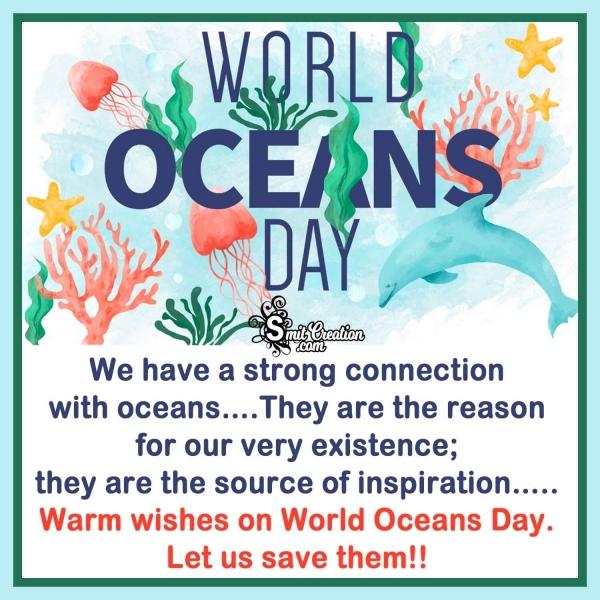 Happy World Ocean Day Quotes