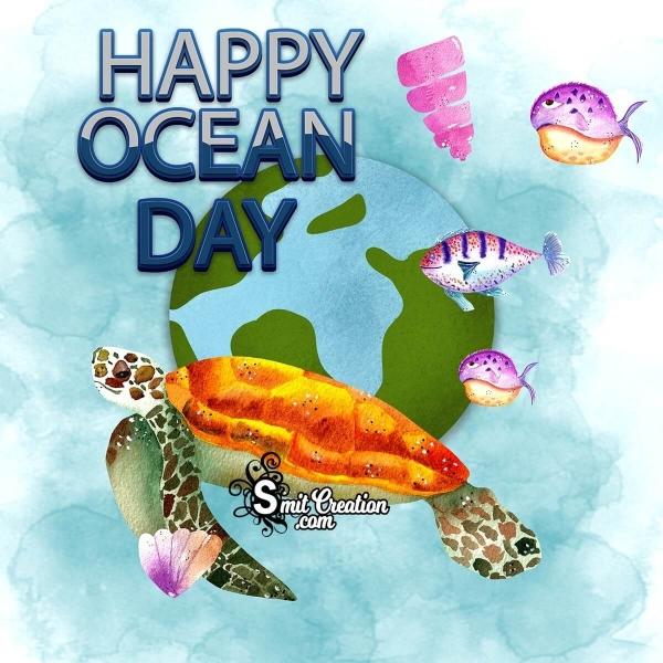 Happy Ocean Day Image