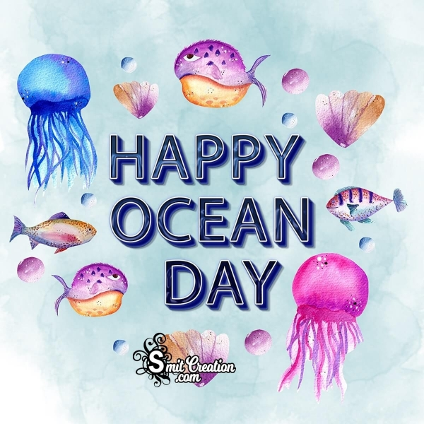 Happy Ocean Day Picture