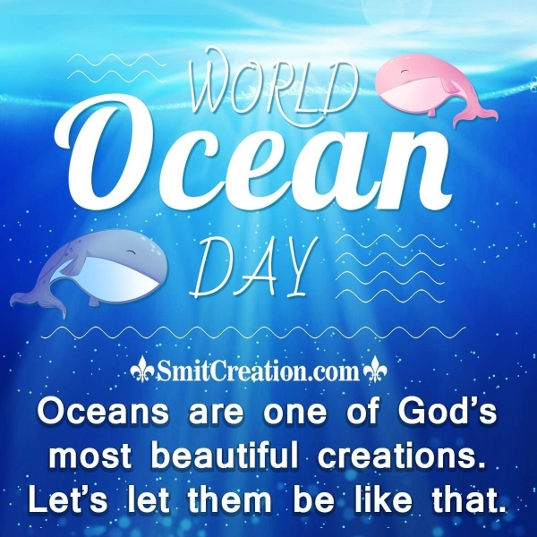 Happy World Oceans Day Quote