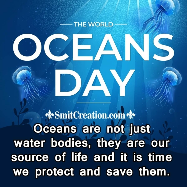 World Oceans Day Wishes