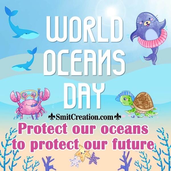 World Oceans Day Slogan