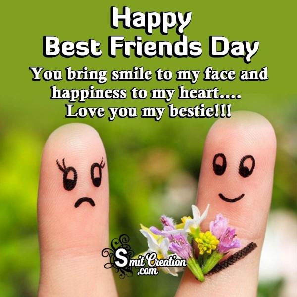 Happy Best Friends Day Whatsapp Status