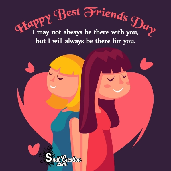Happy Best Friends Day Wish Image