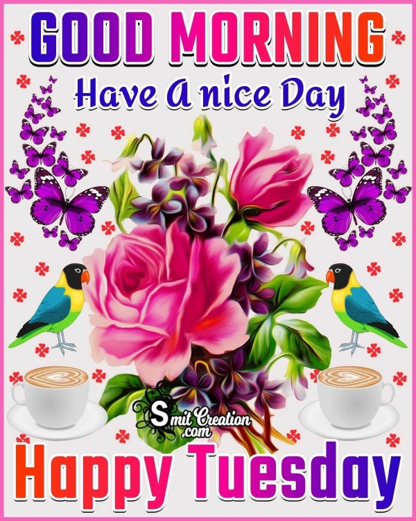 Good Morning Have A Nice Day Happy Tuesday