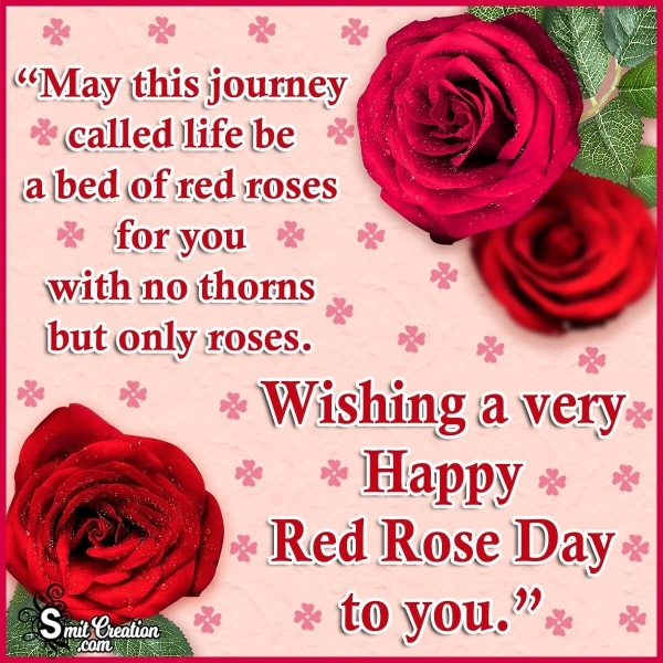 Happy Red Rose Day Wishes Messages For Friends