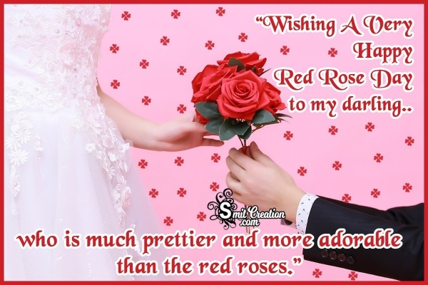 Happy Red Rose Day Wishes for Girlfriend and Wife