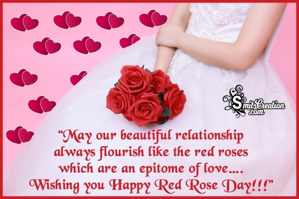 Happy Red Rose Day Messages for Boyfriend and Husband