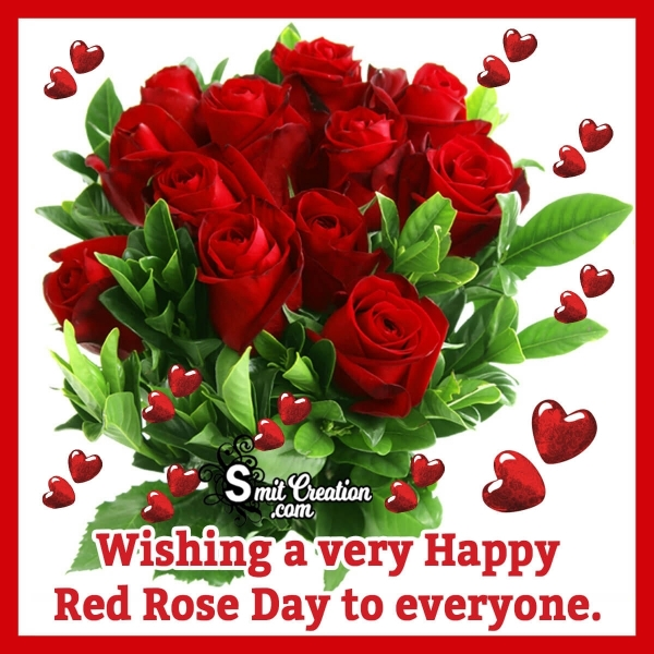 Happy Red Rose Day Image For Whatsapp