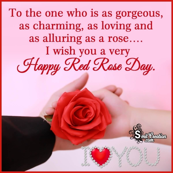 Happy Red Rose Day Messages