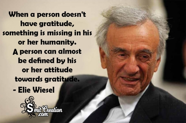 When A Person Doesn't Have Gratitude