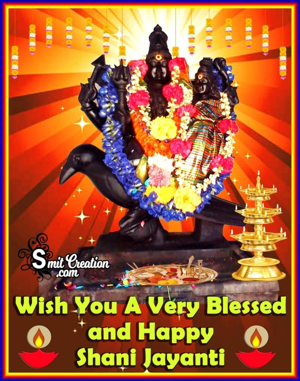 Wish You A Blessed And Happy Shani Jayanti
