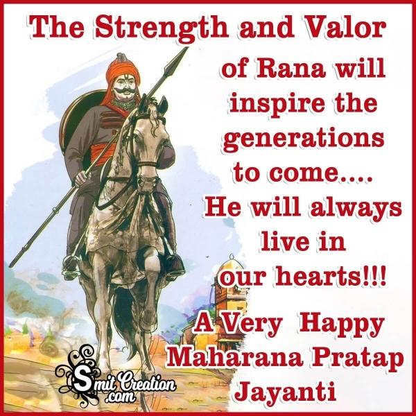 Maharana Pratap Jayanti Status