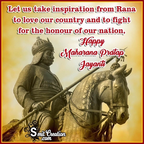 Happy Maharana Pratap Jayanti Status Image