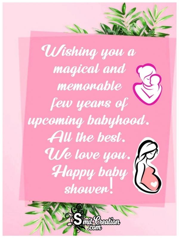 Wishing Happy Baby Shower
