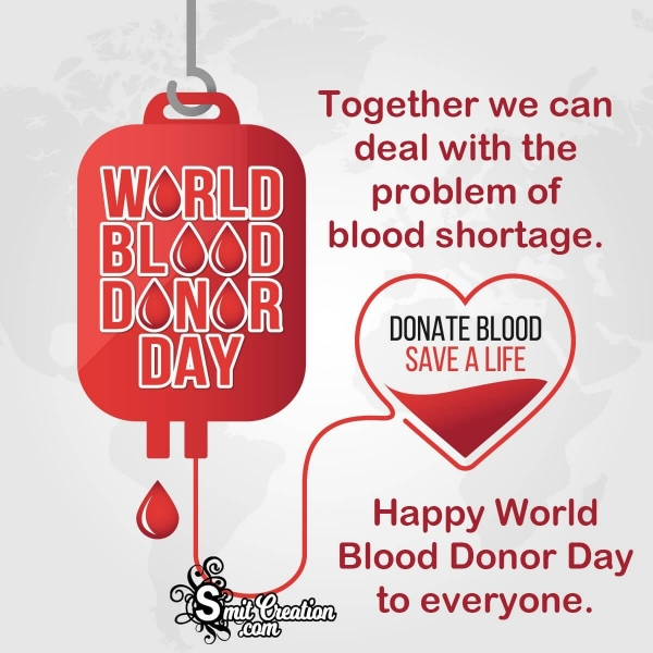 Happy World Blood Donor Day Status For Whatsapp
