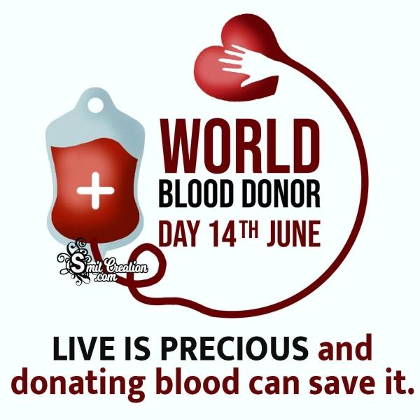 World Blood Donor Day Slogan Image