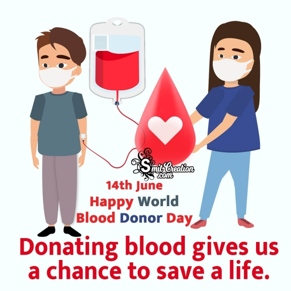 Catchy World Blood Donor Day Slogans in English