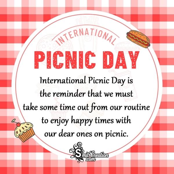 Happy International Picnic Day Wishes