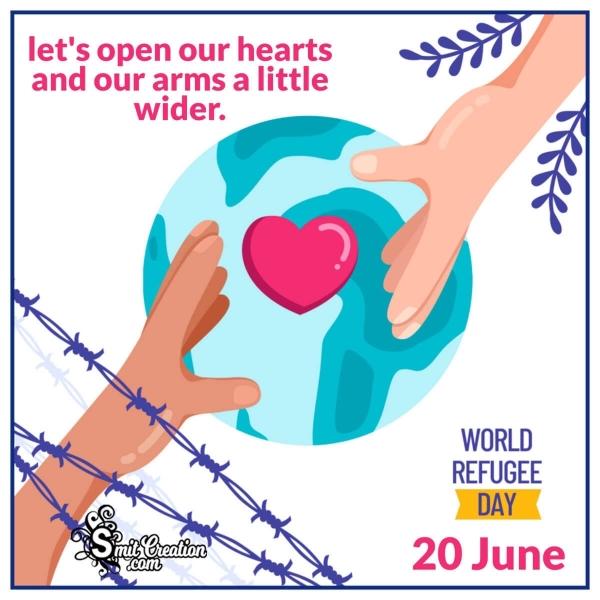 World Refugee Day Slogans