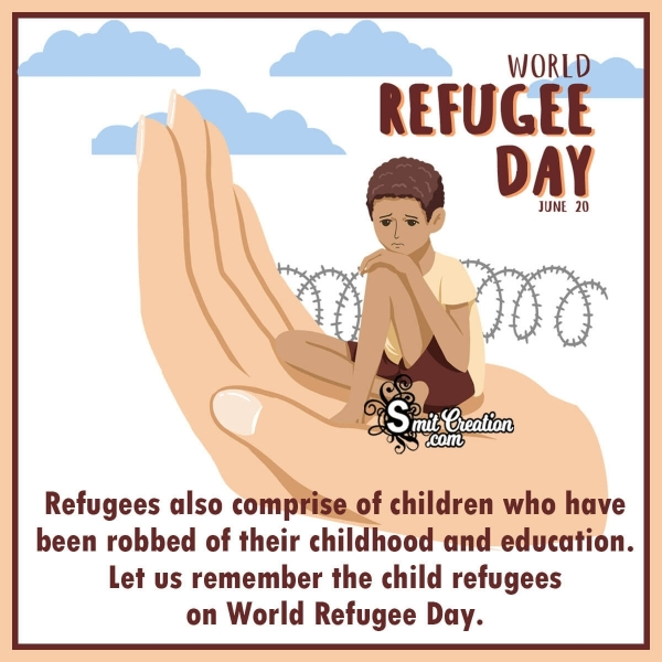 World Refugee Day June 20 Message