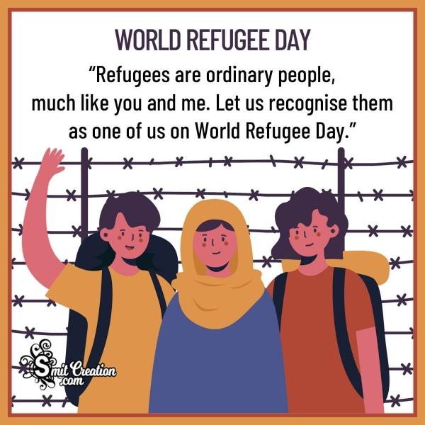 World Refugee Day Messages