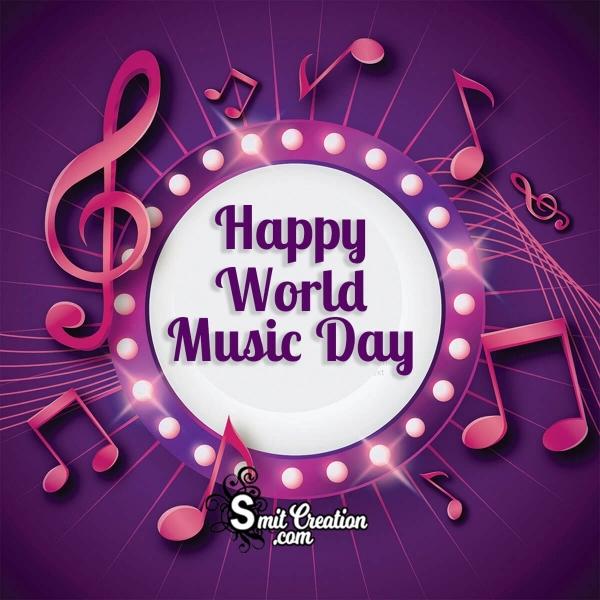 Happy World Music Day