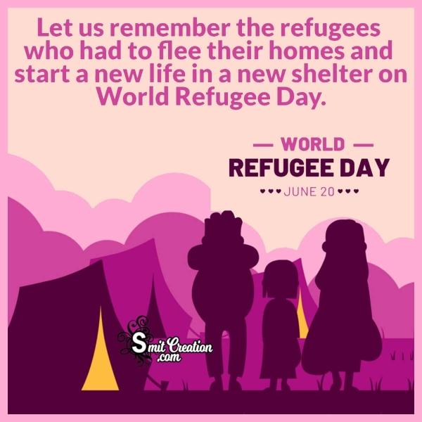 World Refugee Day Message Image