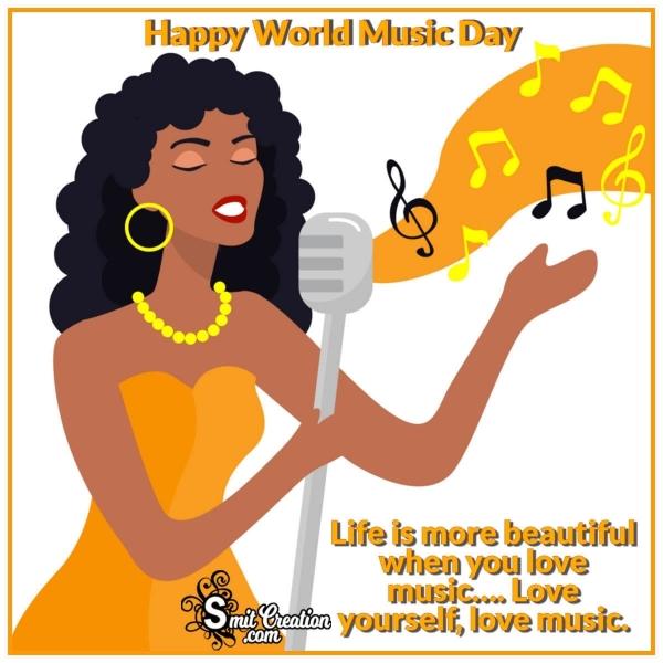 Happy World Music Day Status Pic