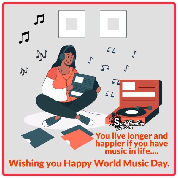 Happy World Music Day Whatsapp Status
