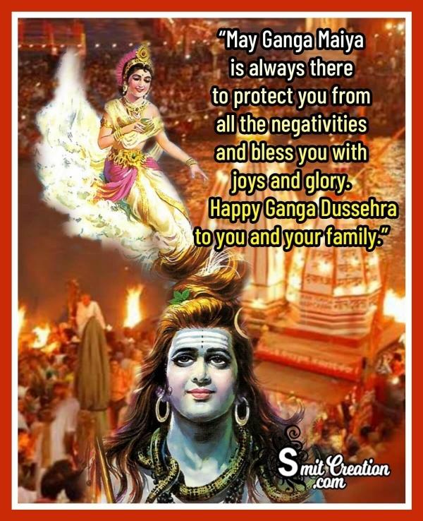 Happy Ganga Dussehra Wish Photo