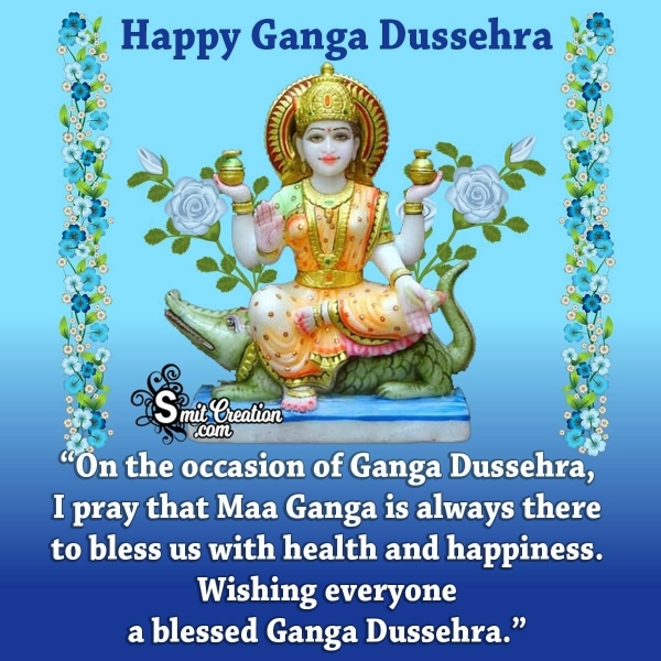 Ganga Dussehra Status Messages
