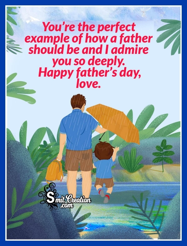Father's Day Wishes for Husband
