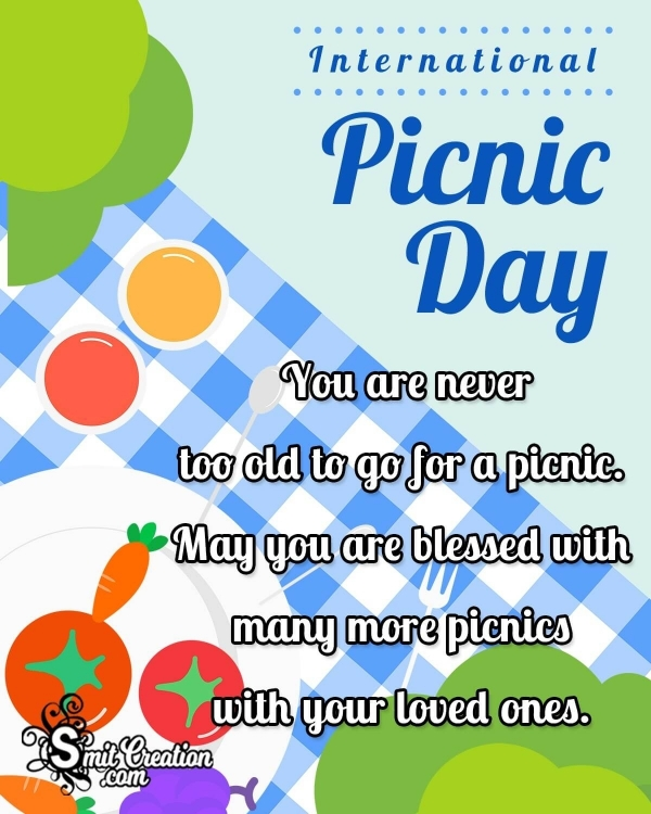 International Picnic Day Wishes Message