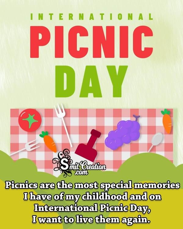 International Picnic Day Status