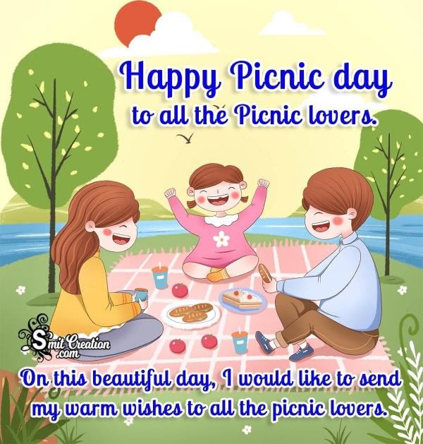 Happy Picnic Day Wish Image